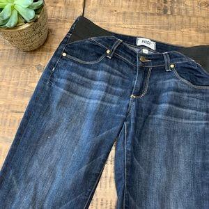 Paige Jimmy Jimmy maternity skinny jeans sz 24